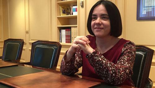 Cristina Gavin, Ibercaja Gestión