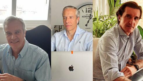 Juan Fontan, Diego Garcia y Jorge Rodriguez, A&G Banca Privada