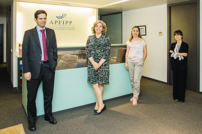 APFIPP equipa Sérgio, Marta, Angela, Carla
